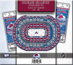 Colorado Avalanche Seating Chart With Seat Numbers Colorado Avalanche Seating Chart Thelifeisdream