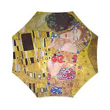 friends novelty birthday gifts presents the kiss by gustav klimt 100 fabric and aluminium foldable