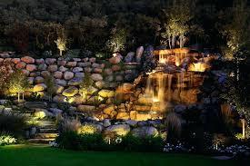 pool waterfall lighting. Waterfall Lighting Pond And Feature Wash Pathway Salt Pool Ideas . C
