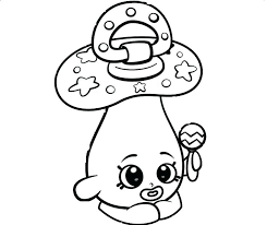 Kid Coloring Pages Shopkins Kid Coloring Pages Coloring Sheets Cute