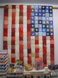 American flag quilt, Pieced top with hand appliqued stars ... & American flag quilt, Pieced top with hand appliqued stars Adamdwight.com