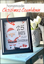 homemade christmas countdown printables for christmas homemade christmas countdown