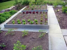 concrete raised garden beds 41 backyard raised bed garden ideas