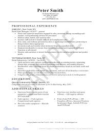 Etail Resume Objective Resume Objective Examples For Retail Great