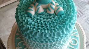Boy Baby Shower Cakes Blue And Gold Baby Shower Ideas