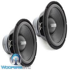 2 sundown audio lcs 12d4 12 034 dual 4 ohm 300w rms subwoofers image is loading 2 sundown audio lcs 12d4 12 034 dual