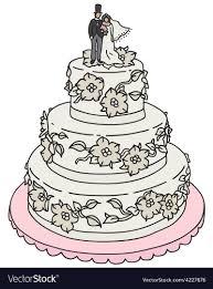 Wedding Cake Figure Vector Images 39