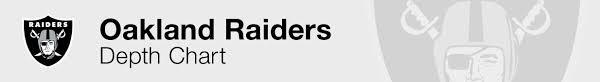 Raiders Depth Chart 2019 2020 Oakland Raiders Depth Chart Live