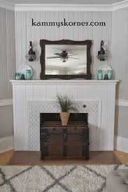 Diy Fireplace Makeover Ideas Stenciling A Granite Fireplace Stencil Stories