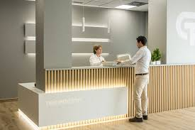 wood slat panels for offices the