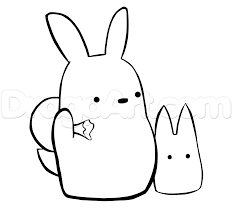 little totoro. how to draw chu totoro and chibi from my neighbour step 7 little