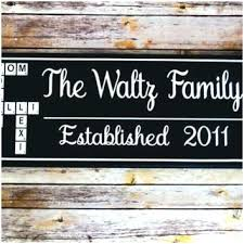 last name wood signs personalized name wood wall decor pretty personalized last name wall art of