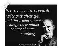 Famous Quotes About Change Adorable Progress Is Impossible Without Change Famous Quote QUOTEZ○CO