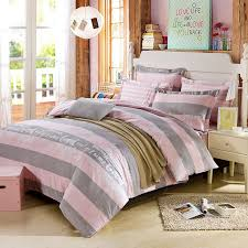 beautiful dull grey and pink cotton bedding set 1 600x600 beautiful dull grey and pink