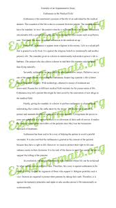 sample for argumentative essay
