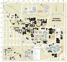cu campus map  university of colorado online visitor's guide