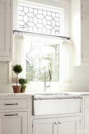 elegant kitchen curtain to add the different nuance. Tranquil, Comfortable, Modern Country Living Elegant Kitchen Curtain To Add The Different Nuance W