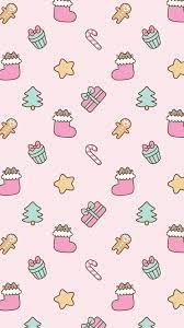 Cute Pink Christmas Wallpapers - Top ...