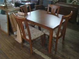 pair of barstools solid maple dining room