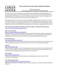 internships and jobs west chester university international resources document overview