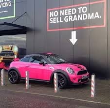 mini cooper convertible pink. hot pink mini cooper s coupe jcw edition mini convertible
