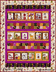 Free Quilt pattern using Spice Cats Fabrics by Loralie – Phyllis ... & Spice Cats Quilt free pattern from Quilting Treasures Adamdwight.com