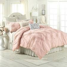 comforter set pink rose cad a liked on featuring home bed bath bedding comforters twin pintuck comforter set view full size white twin pink pintuck light