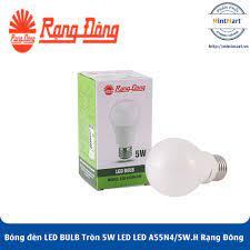 Bóng đèn LED BULB Tròn 5W LED A55N4/5W.H Rạng Đông - Hàng Chính Hãng -  mintmart.vn