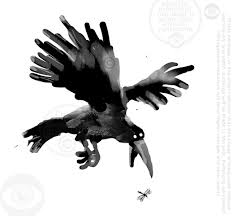 Image result for cartoon illustration of a crow