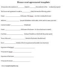 Sample Apartment Rental Agreement. Apartment Rental Agreement Letter ...