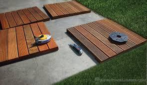 deck tiles installation