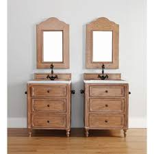 Driftwood Bathroom Vanity James Martin Furniture Copper Cove 26 Single Driftwood Patina