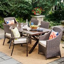 Belvedere Wicker Patio Furniture Collection Threshold Target