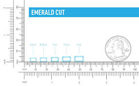 Emerald Cut Stone Size Chart Emerald Cut Diamond Shape Quality Color And Clarity