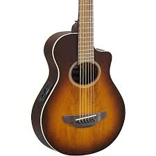yamaha acoustic guitar. yamaha apx thinline 3/4 size acoustic-electic guitar acoustic x