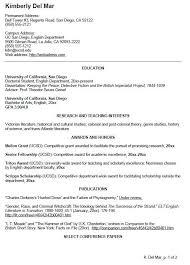 Curriculum Vitae Outline Delectable Curriculum Vitae Sample Unique English Cv Sample Writing Your