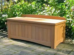 porch storage bench outdoor storage bench waterproof patio outdoor deck storage bench plans