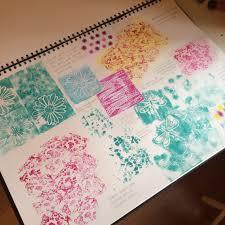 Textile Design Tutorial Textiles Reflective Journal Page 3