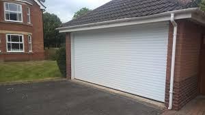 conversion from two single doors to one double garage door elite gd