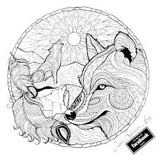 Wolf Coloring Pages To Print Gallery Of Wolf Coloring Pages