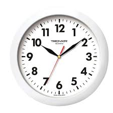 Купить <b>Часы настенные</b> TROYKA 11110118, круг, <b>белые</b>, белая ...