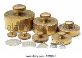 Small Metric Weight Brass Weight Lab Laboratory Gram Calculate Balance Heavy