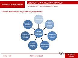 Презентация на тему ЮЖНО УРАЛЬСКИЙ ГОСУДАРСТВЕННЫЙ УНИВЕРСИТЕТ  10 Финансы предприятия