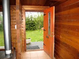 Open Front Door Illustration