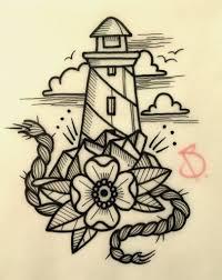 Tattoo Idea эскизы чб флэш