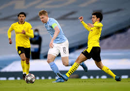 90PLUS   Manchester City v Borussia Dortmund - UEFA Champions League -  Quarter Final - First Leg - Etihad Stadium Manchester Cit   Fussball  international – seriös & kompakt
