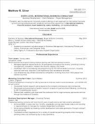 Sample Resume Sales And Marketing Delectable College Student Resume Template Word Download For Graduate Examples