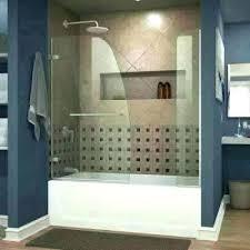 install shower door fiberglass tub removing doors from for enclosures home depot decoration bathrooms marvellous fibe