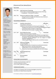 7 Resumes Layout Examples Bolttor Que Chart
