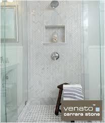 marble herringbone mosaic tile how to venato marble shower with 1 3 herringbone and basketweave